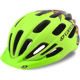Giro Hale MIPS Helm Kinder grün/bunt
